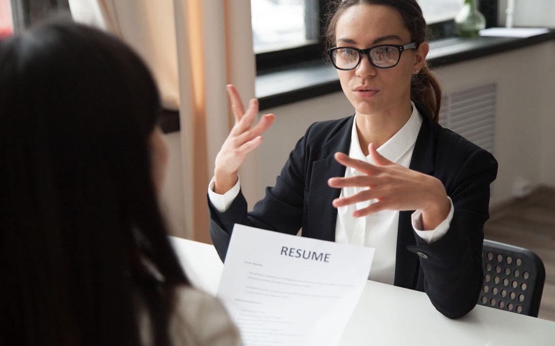 Explaining weaknesses in job interview